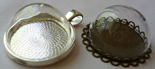 Flower soft terrarium craft floral and leaf beads glass vials craft aloadofball Gallery