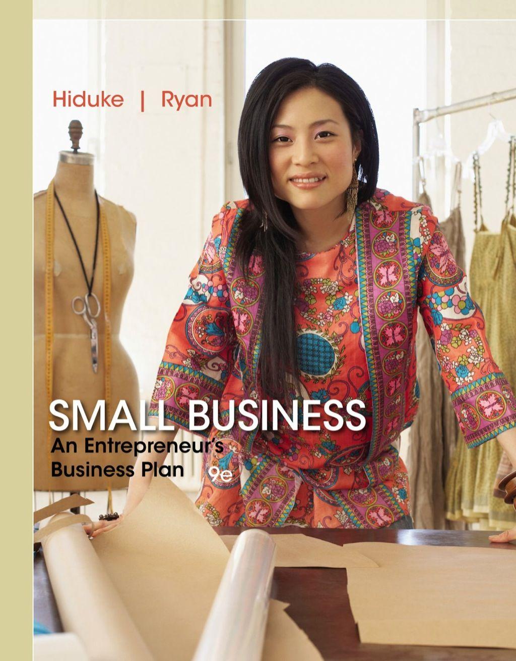 Small Business An Entrepreneur's Business Plan (eBook