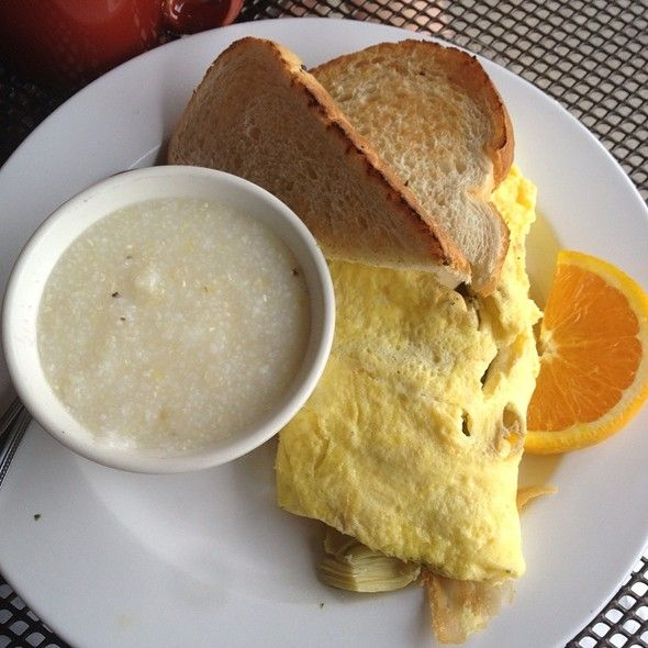 tofu omelet at Toast Cafe.