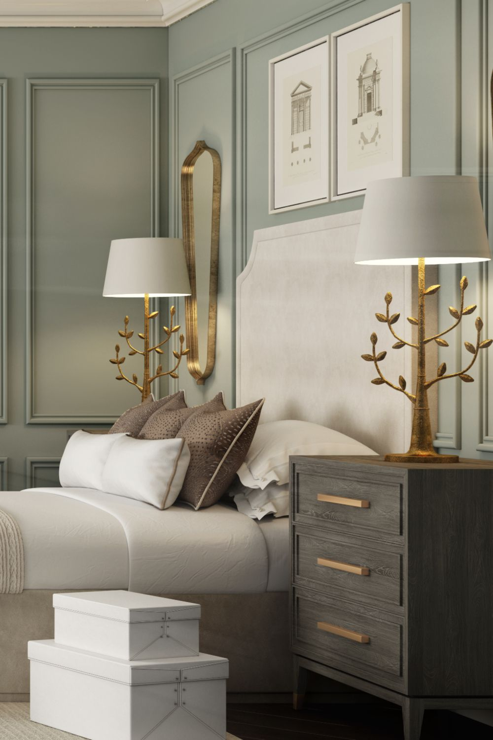 Guest Bedroom | The Surrey LookBook | LuxDeco.com | Home decor, Classic  bedroom, Luxurious bedrooms