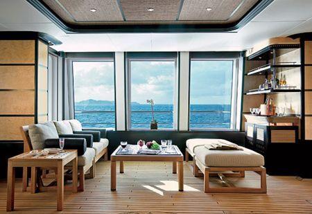 Modern Yacht Interior Design with Wood Veneer | Modern Yacht ...