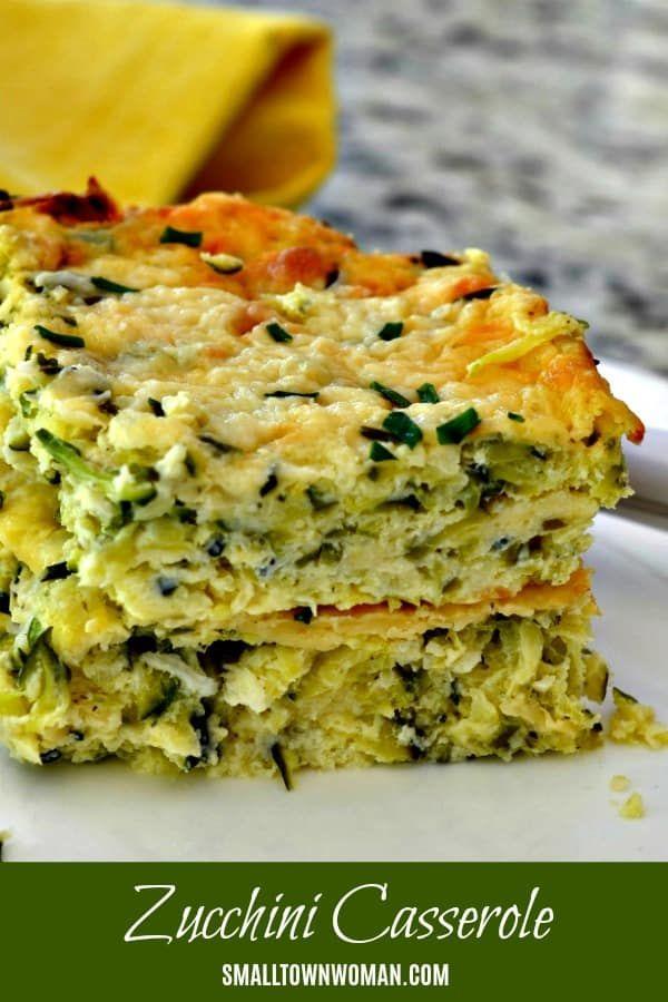 Zucchini Casserole Low Carb And Keto Friendly Recipe Zucchini
