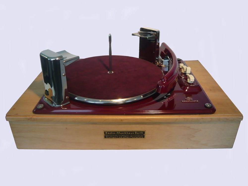 Electric Gramophone Phonograph Record Players Turntable Vintage Record Player