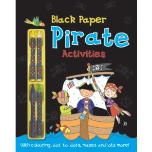 Buy Chad Valley Pirates Activity Book at Argos.co.uk - Your Online Shop for Pre-school, Toys under 10 pounds, Children's books.