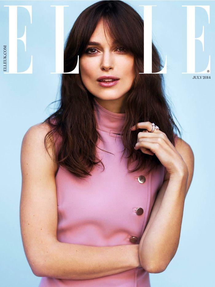 Keira Knightley – Elle UK July 2014