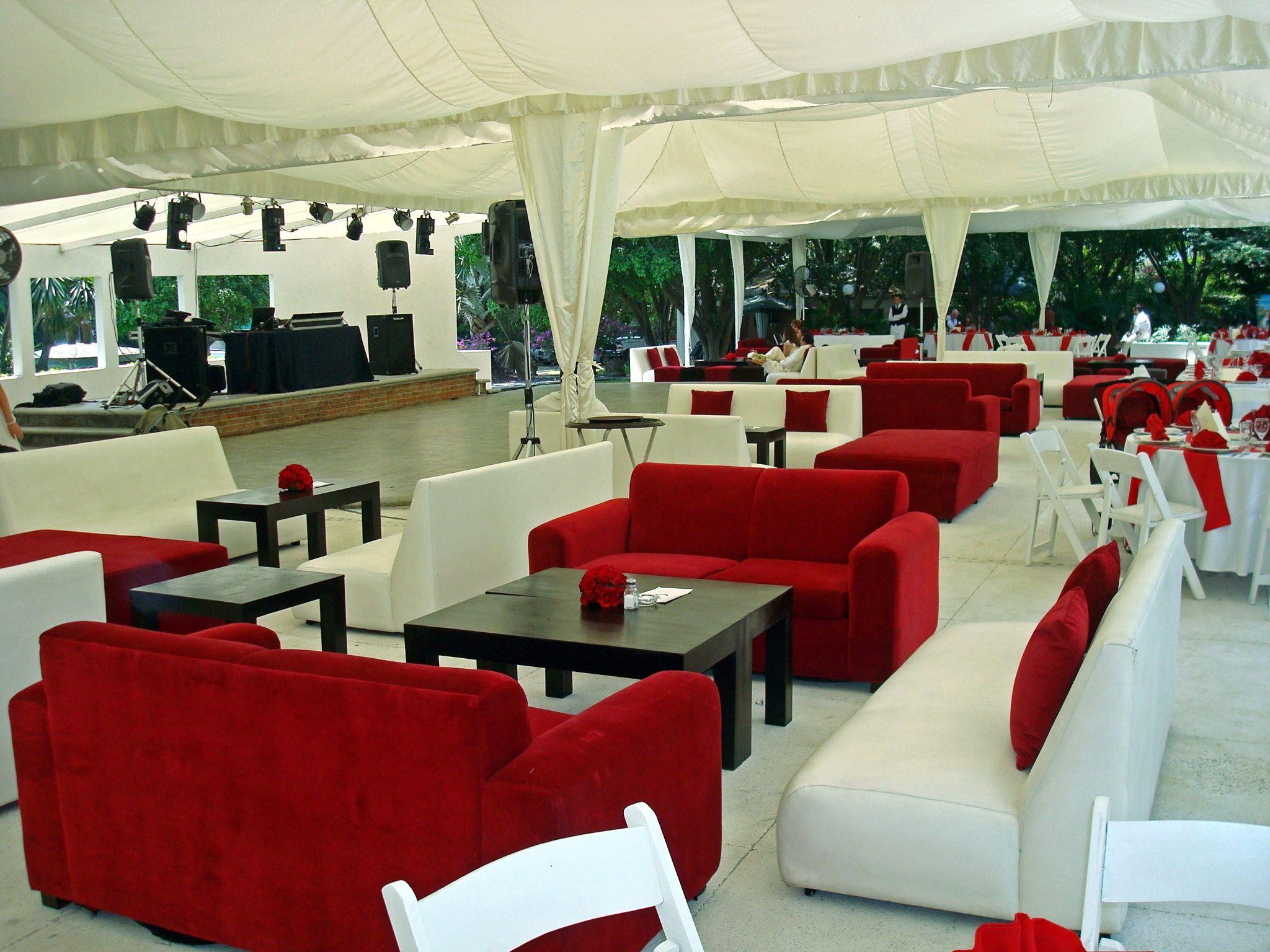 Salas Dentro De La Carpa En Lugar De Mesas O Para Un Montaje Mixto  # Muebles Lounge Para Eventos