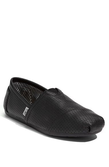 43346bcf14a TOMS Perforated Leather Slip-On (Men) available at  Nordstrom ...