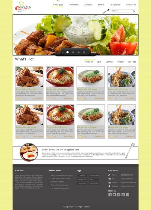 Psd Templates for u !  visit at buycmstemplate.com