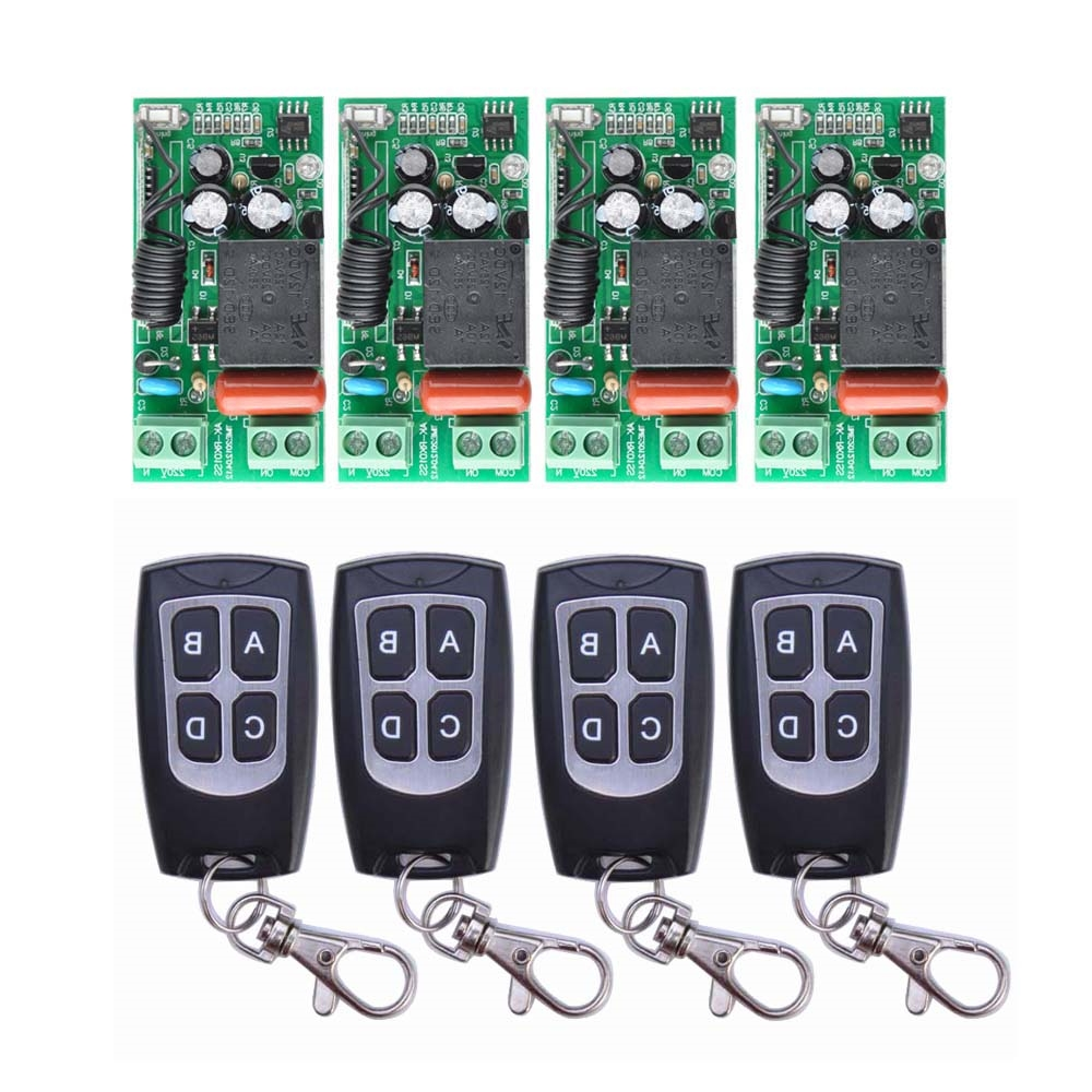 "27.29$  Watch here -  - ""AC 220 V 1CH 10A Relay RF Wireless Remote Control Switch Wireless Light Switch  27.29$"