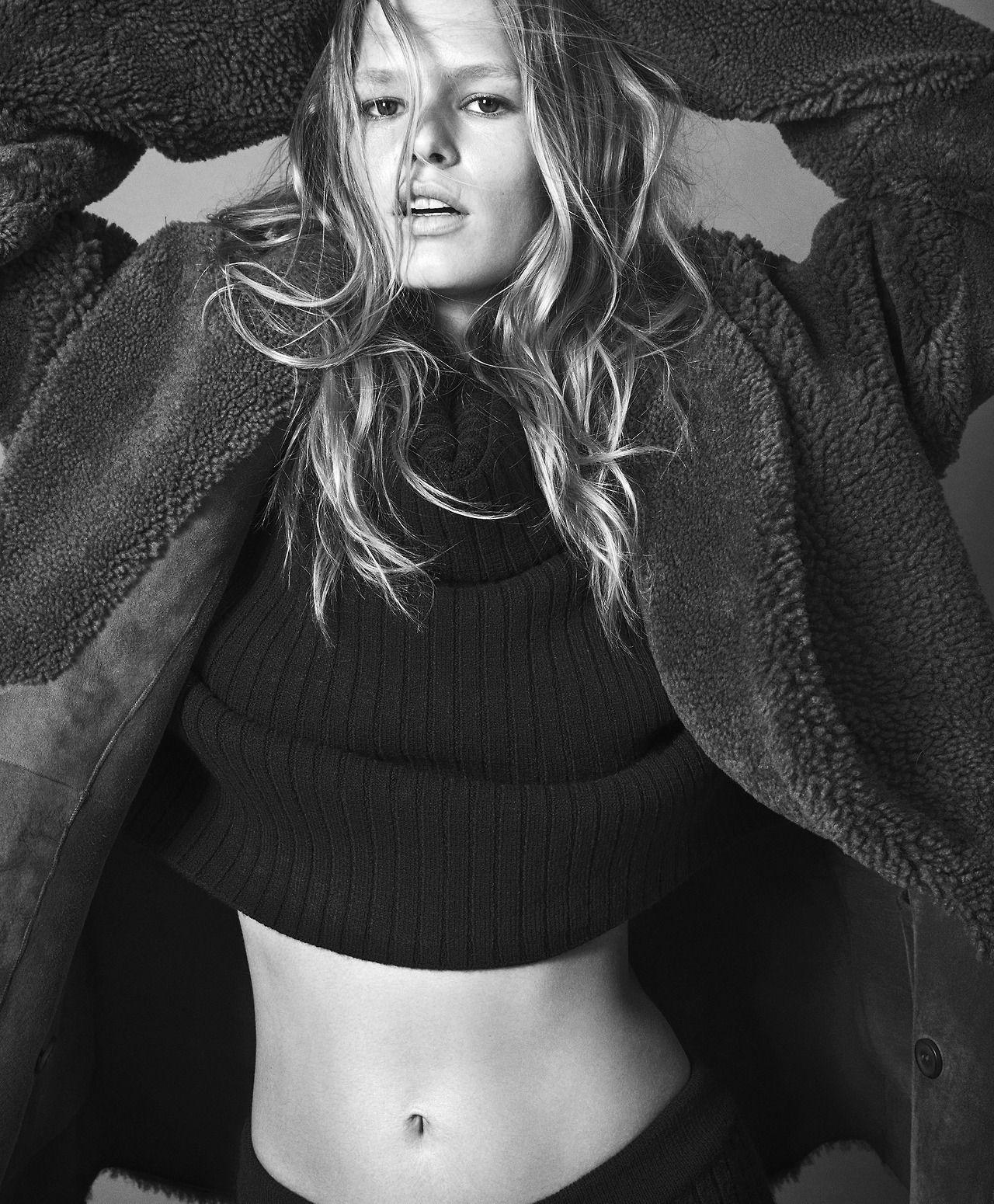 Winter Fashion Model Photography: Ad Campaign: Mango Fall/Winter 2017-2018 Model