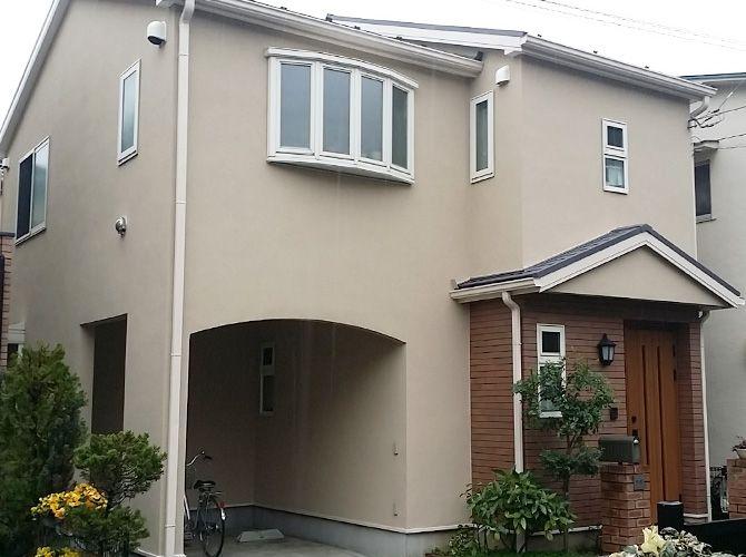 東京都足立区竹の塚の外壁塗装 屋根塗装工事の施工事例 塗装 工事