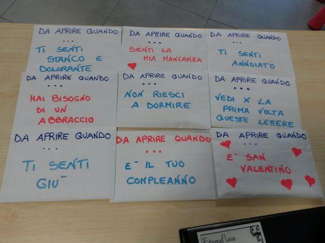 Open When Letters Italiano Clicca Sulla Foto Per Scoprire Cosa C