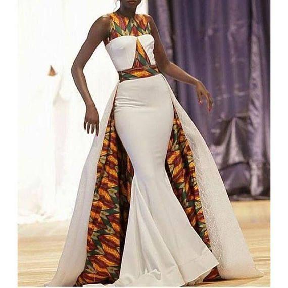 Afrikanisches Kleid mit Umhang  Afrikanische Kleider  Afrikanisches Maxikleid #maxikleider #afrikanischeskleid