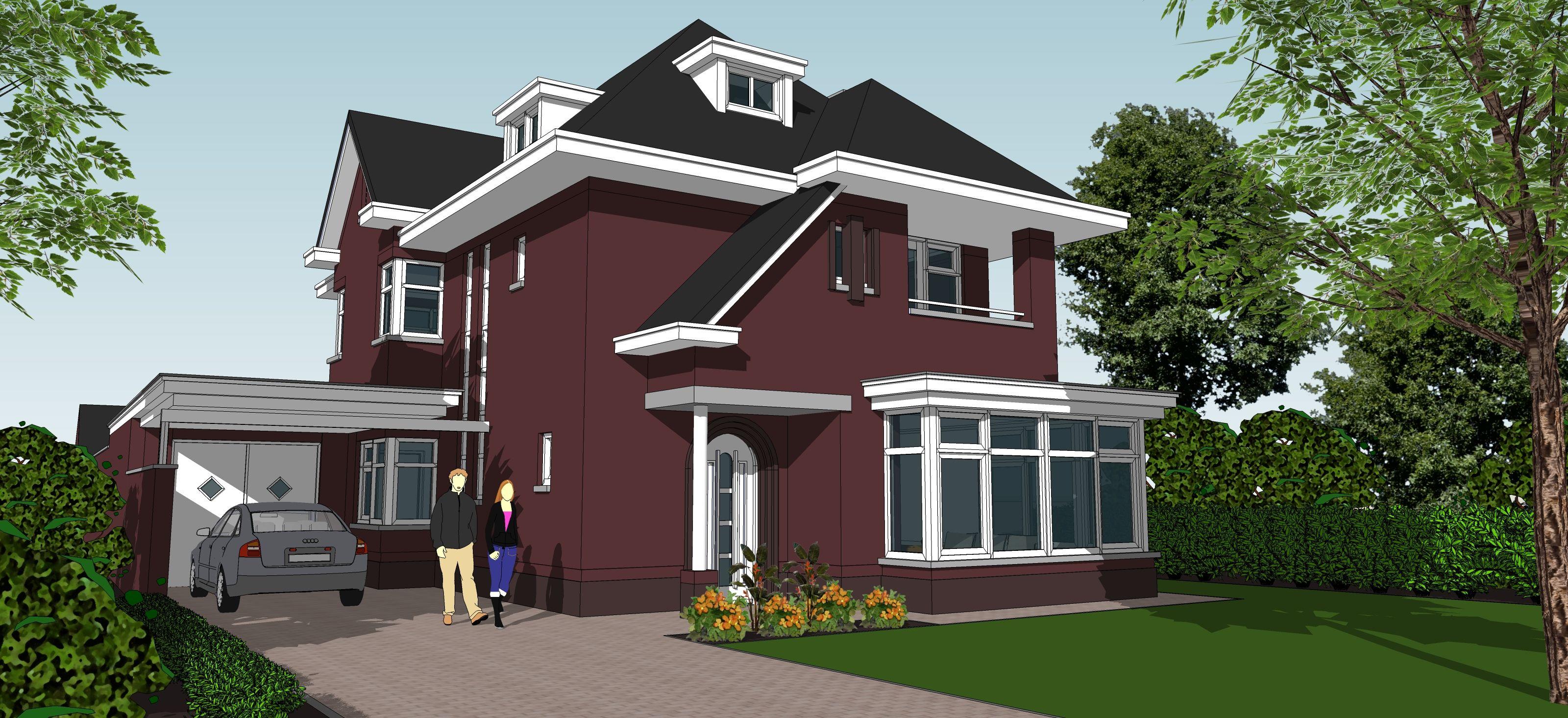 Zelf bouwen en hulp nodig contact schaepers bouwontwerp for Inspiratie huizen