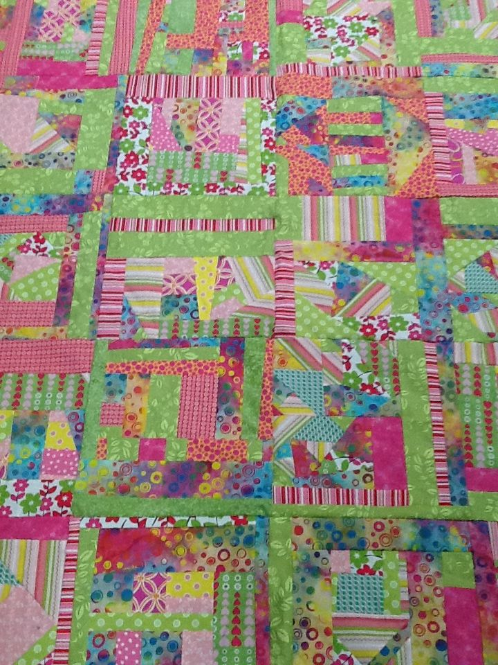 Scrap Quilt My Quilts Pinterest