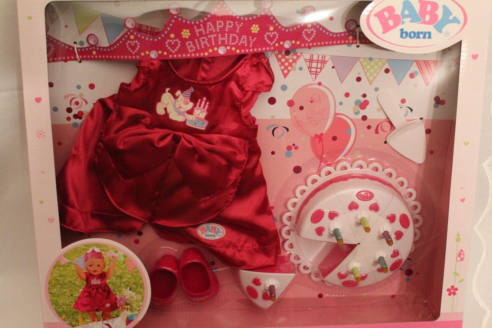 Zapf Creation Baby Born Deluxe Geburtstags Set Neu Ovp In Spielzeug Puppen Zubehor Babypuppen Zubehor Ebay