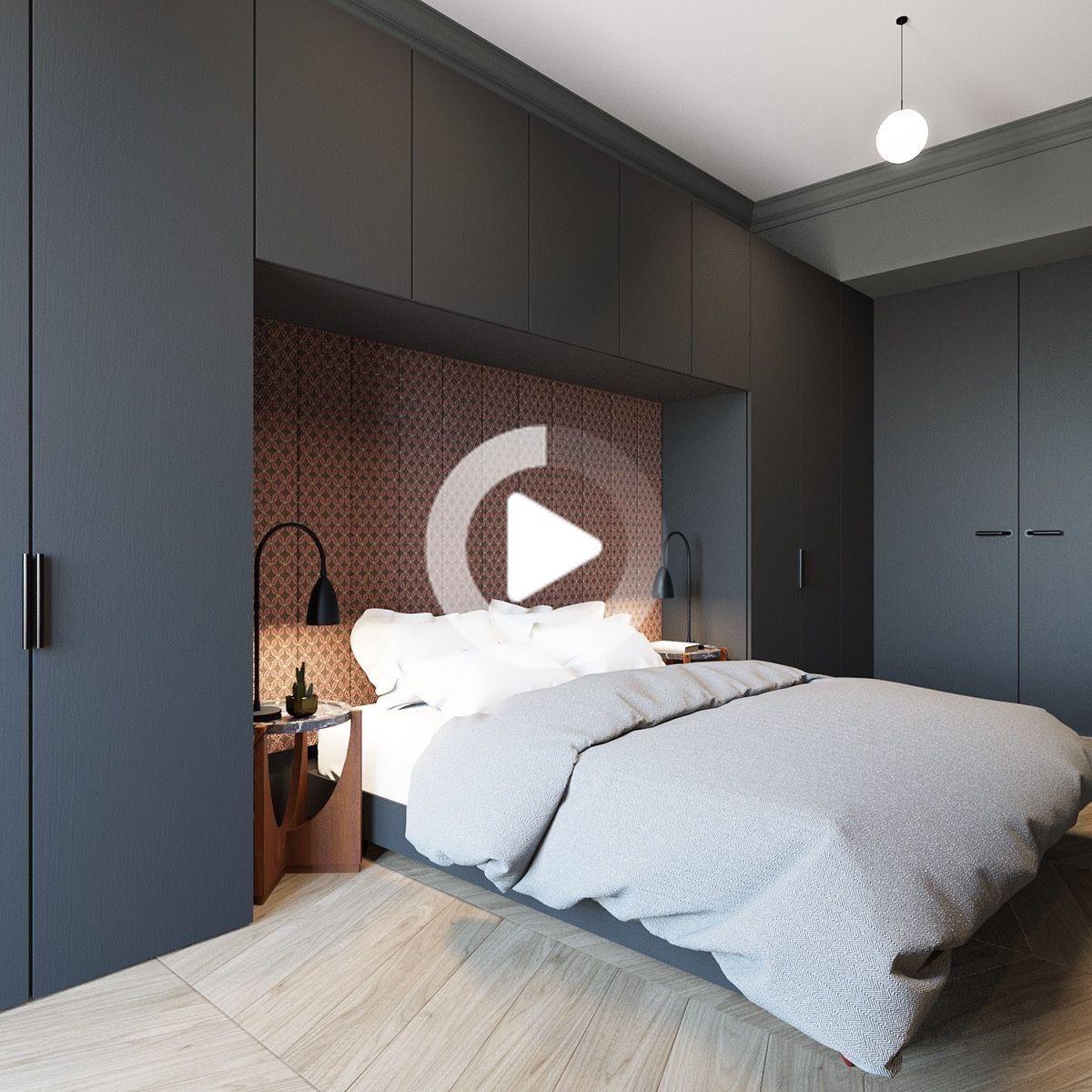 2 Bien Arrondi Home Designs De Moins De 600 Pieds Carres Comprend La Mise En Page Bedroom In 2020 Small Apartment Room Small Bedroom Bedroom Layouts