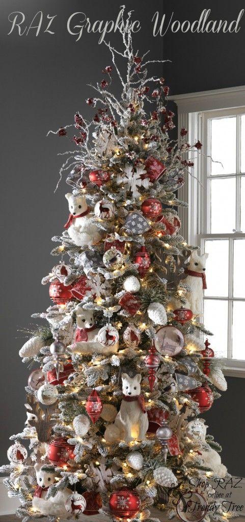 2015 Raz Christmas Trees Decoracion De Pinos Navidenos Decoracion Navidad Decoracion Arbol De Navidad