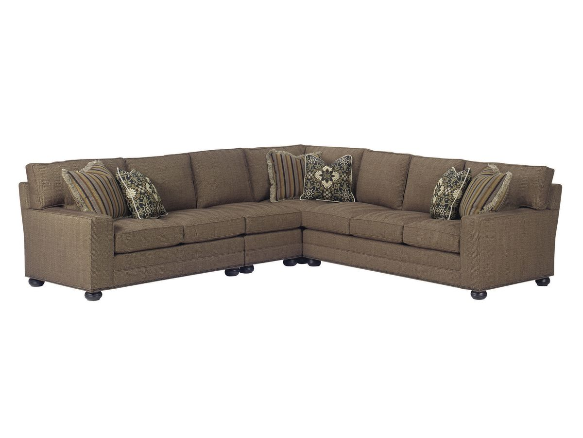 Lexington Upholstery Norwood Sectional Home Brands