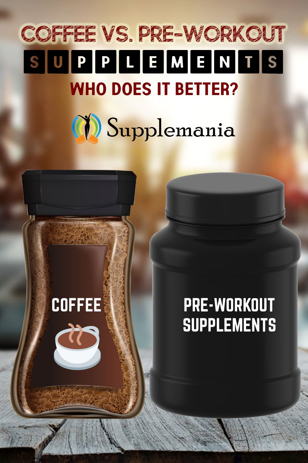 Coffee vs preworkout supplements who does it better