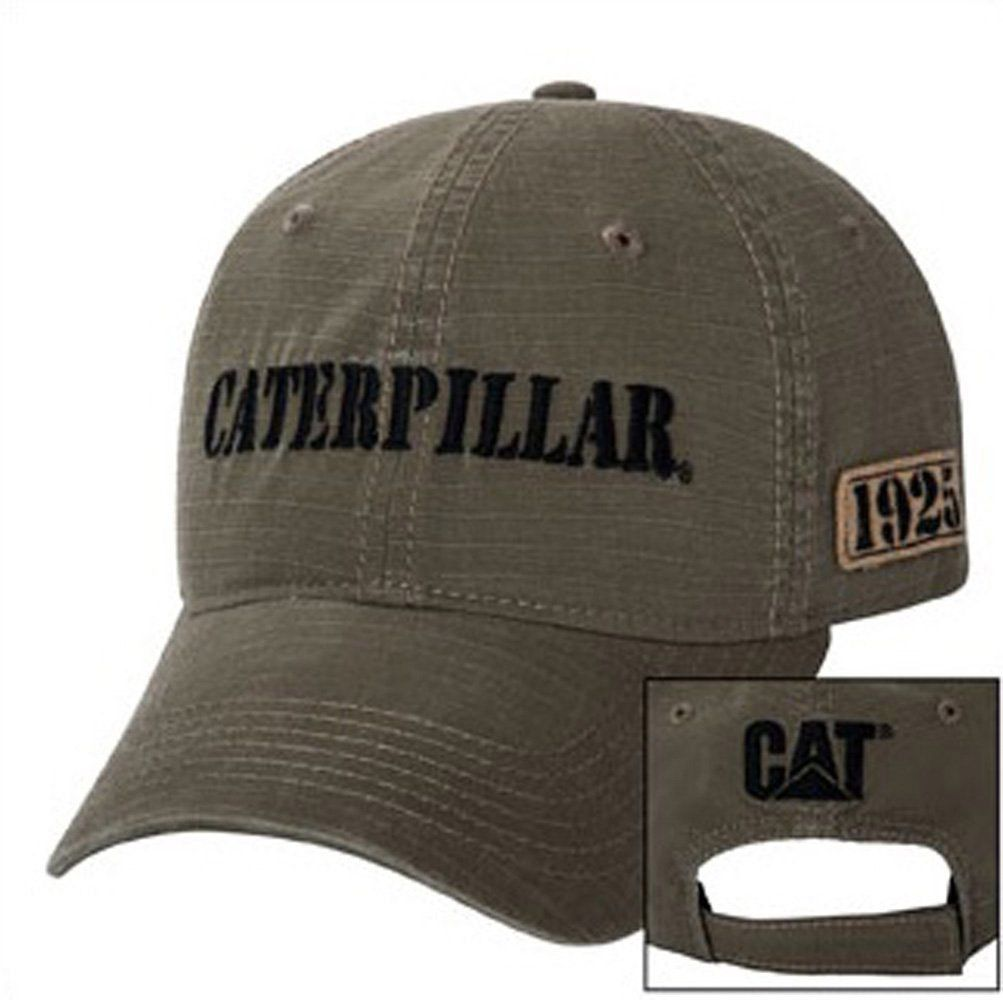 CAT Hats - CAT Caps - Caterpillar CAT 1925 Olive Caps - Caterpillar  Merchandise a9d252bdaec0