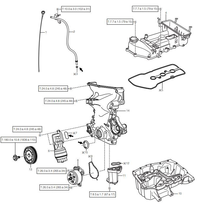 DAIHATSU SIRION service procedure for Type 1KR-FE engine