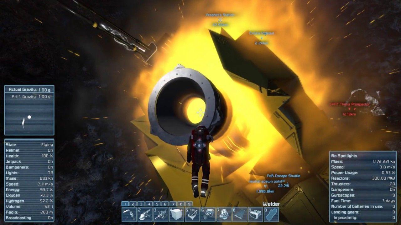 Space Engineers: COOP Survival Scenario - Prophets
