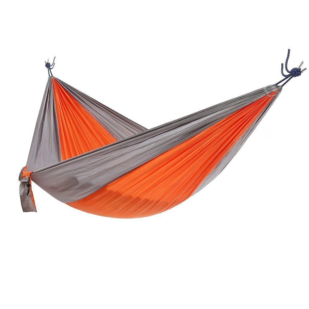 Ohuhu portable nylon fabric travel camping hammock u long x