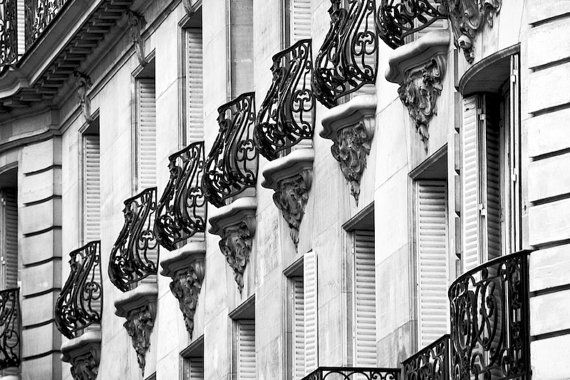 Paris photography Paris balconies French by ParisArtPhotography