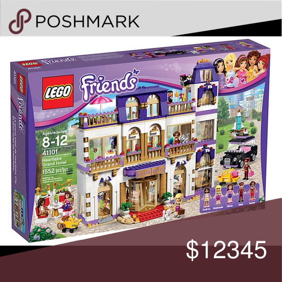Iso Lego Friends Grand Hotel 41101 Lego Friends Sets Lego Friends Friends Set