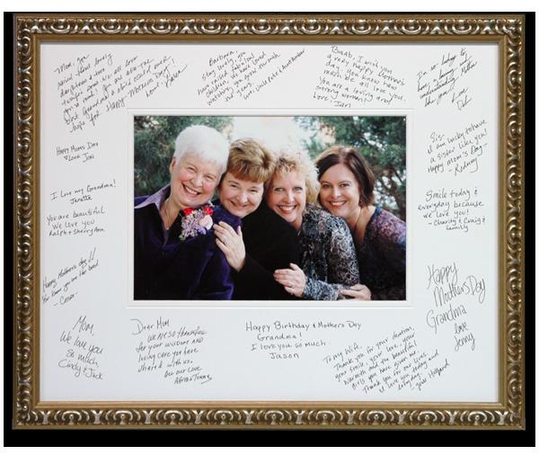Signature Mats Wedding Frames Frame Special Events