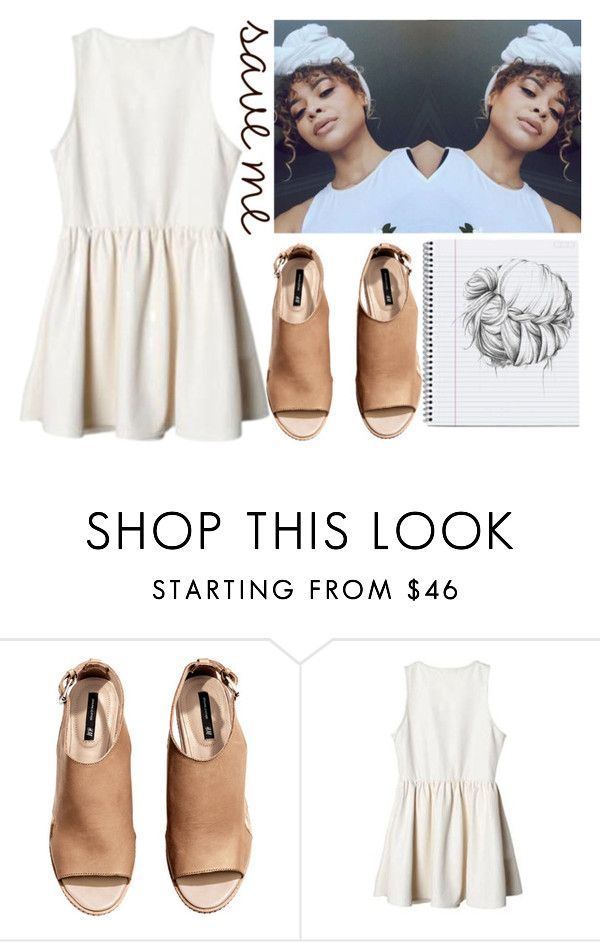 """""""new format ?"""" by sashaaxoxx ❤ liked on Polyvore featuring H&M"""