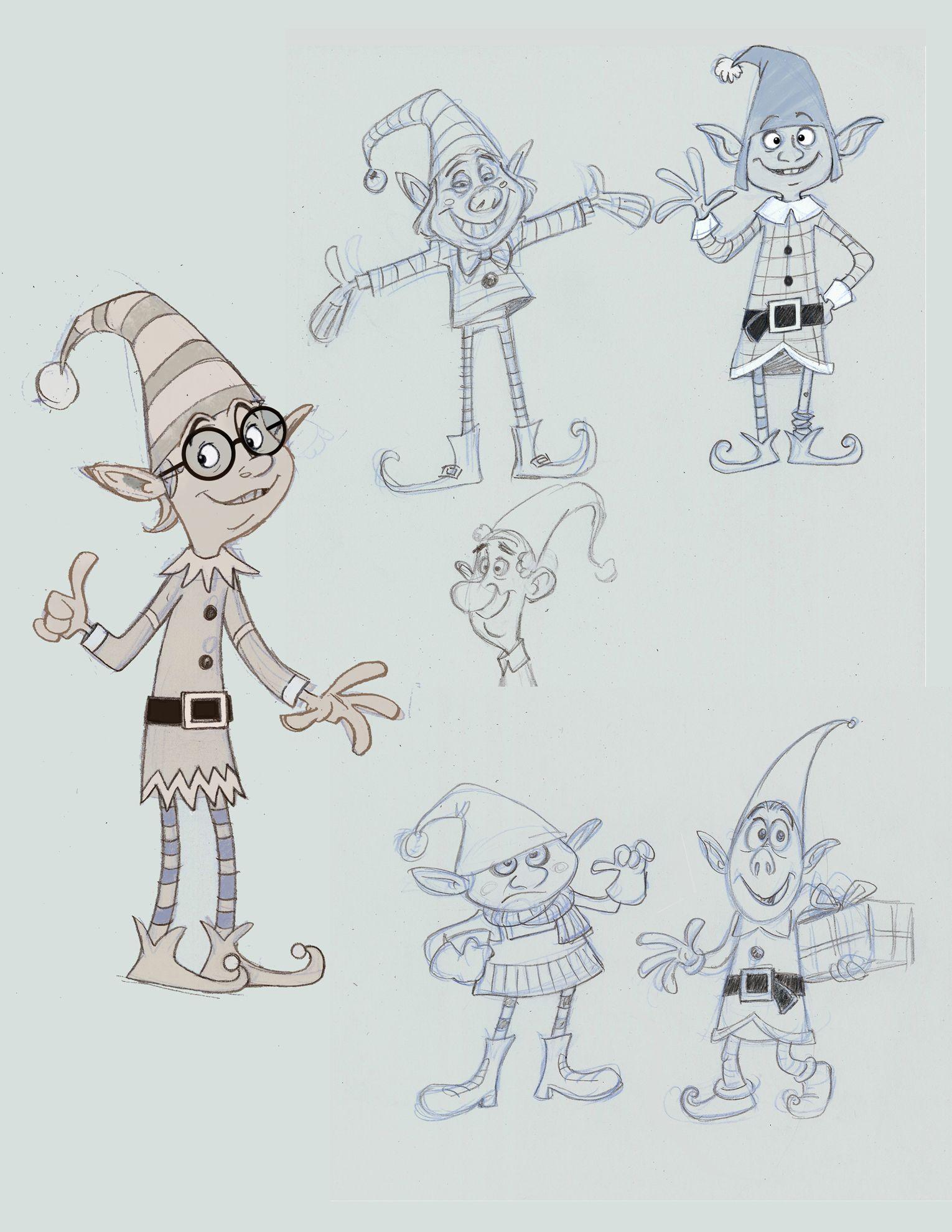 Elves Character design