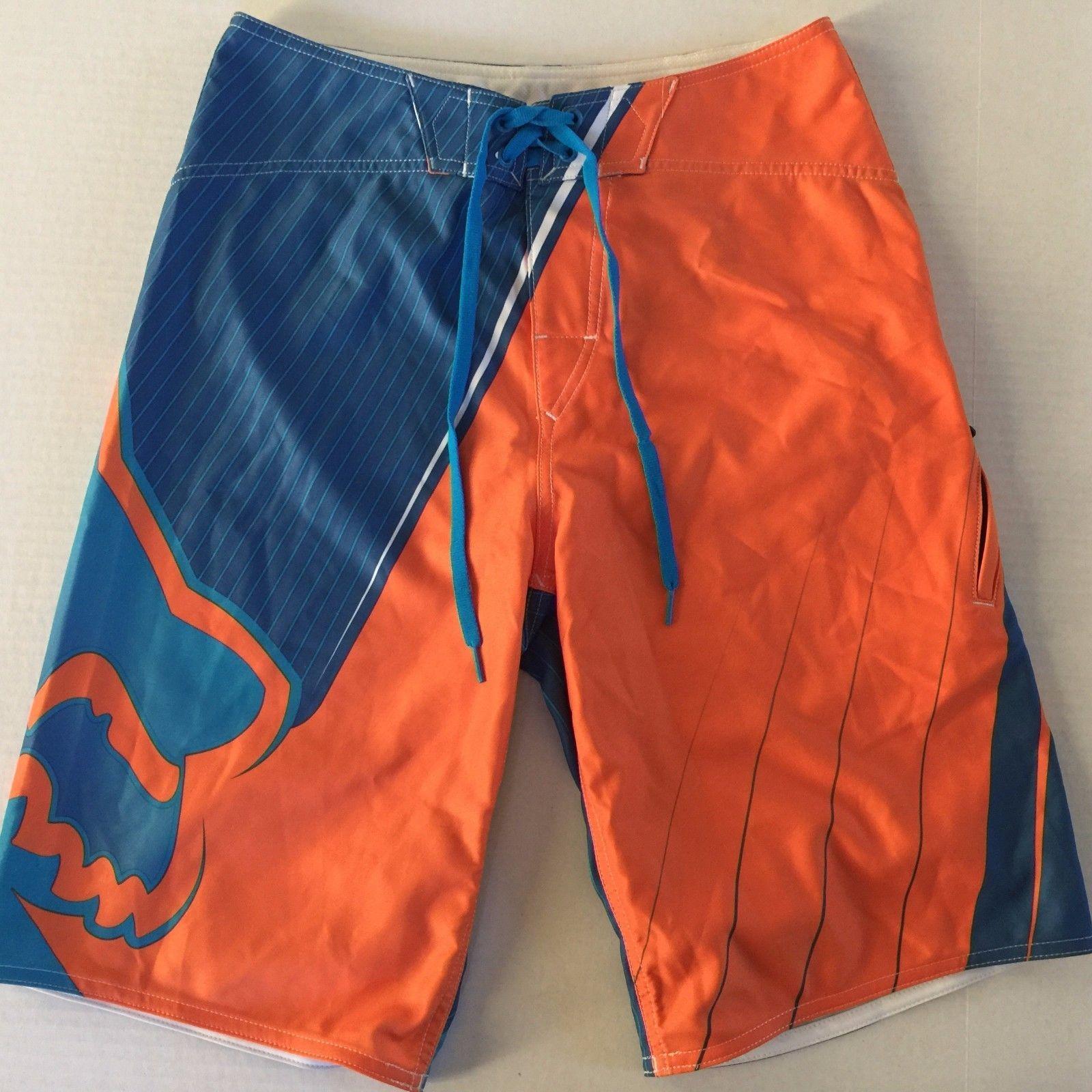 Men's Fox Tech Board Shorts Swim NEW WITHOUT TAGS • CAD 37.82 - PicClick CA