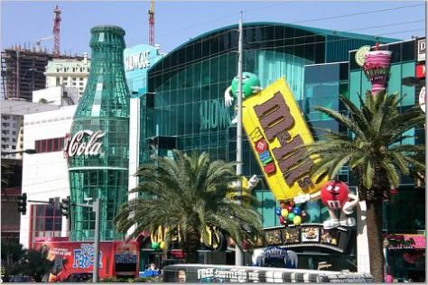 M & M World and Coke Store in Las Vegas | We were there ...