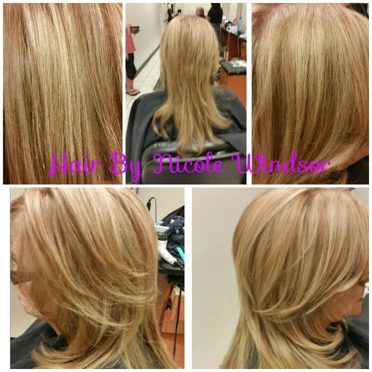 Full Foil Highlights Toned To 8m 10n 8wn Colorsync Hair By Nicole Windsor At Jcpenney Salon In Wildewood Md Jcpenney Salon Hair Nicole