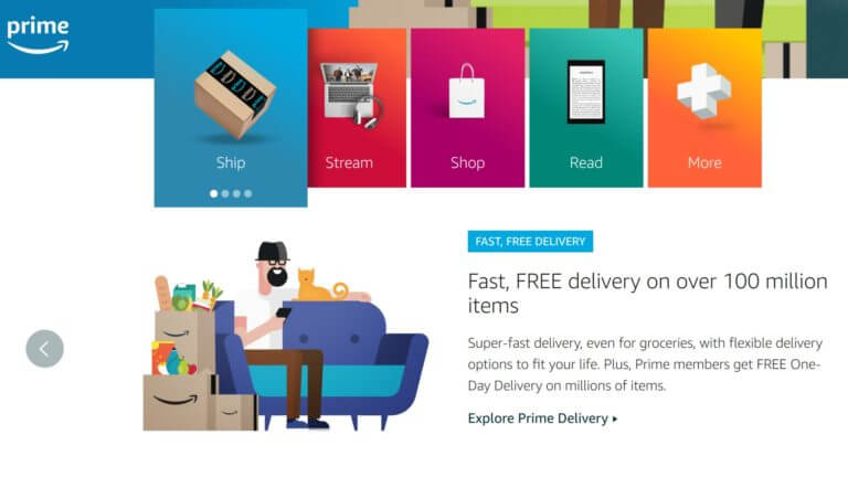 Amazon Holiday 2019 Record New Prime Memberships As One Day Shipping Gets Baked In Amazon Holidays Photography Portfolio Website Digital Marketing