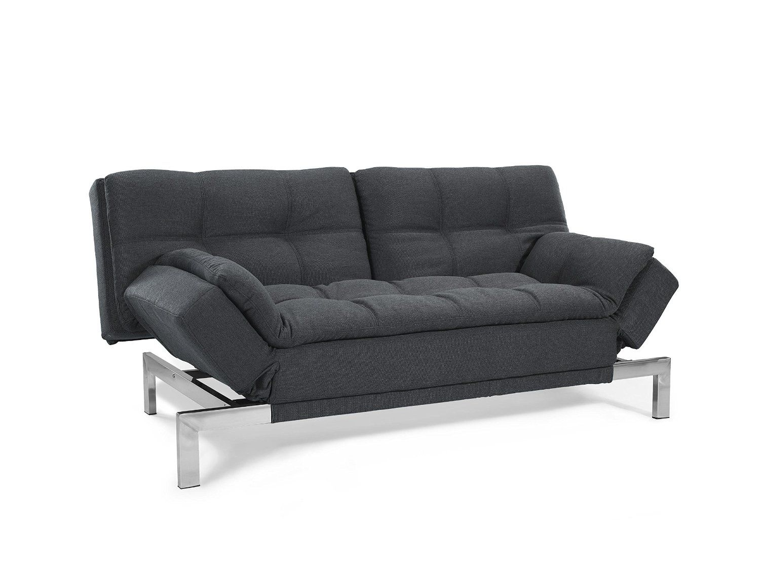 Amazon Sofa Bed Grey Amazon Serta Charcoal Grey Boca Sofa Kitchen Dining