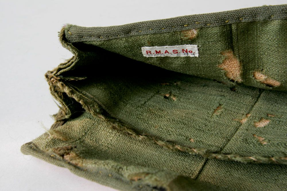 18th Century Antique American Flame Stitch Purse Pocket