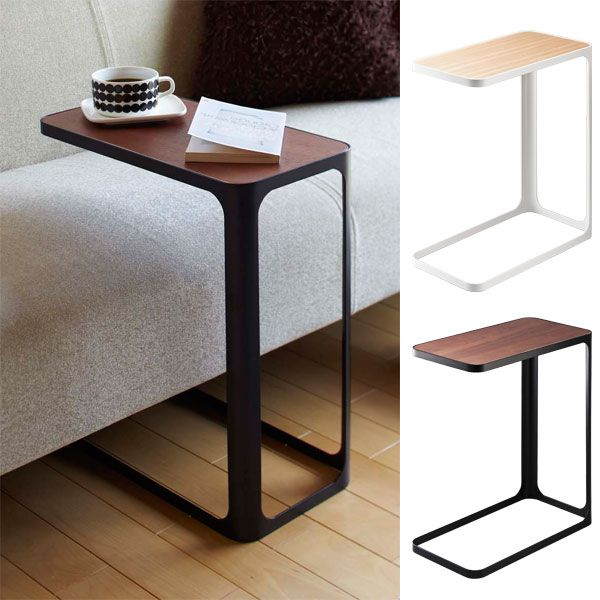 Side table woodgraining nostalgic mini rack co character Sofa side table
