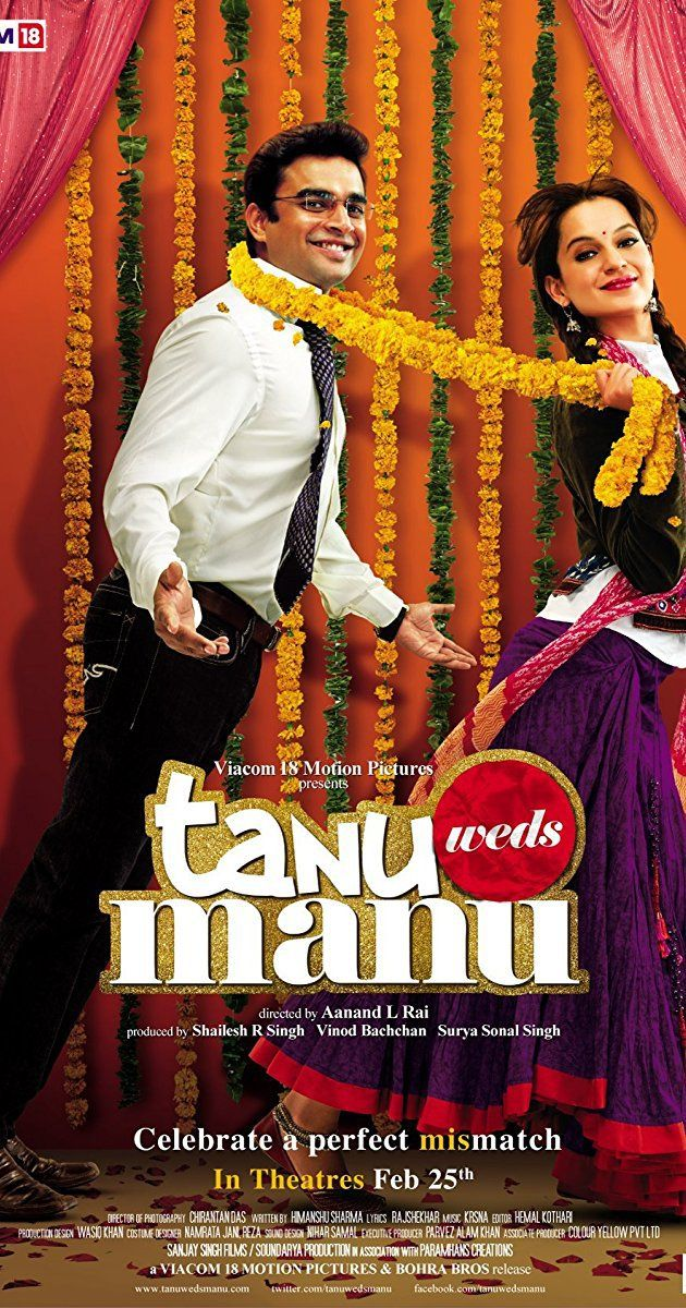 Tanu Weds Manu 2011 Bluray Full Hd Movie Free Download Free Movies Best Bollywood Movies Movies Online