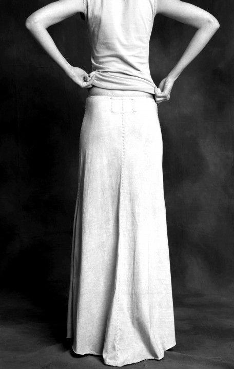 Alabama Chanin Long Skirt | Vestidos | Pinterest | Vestidos