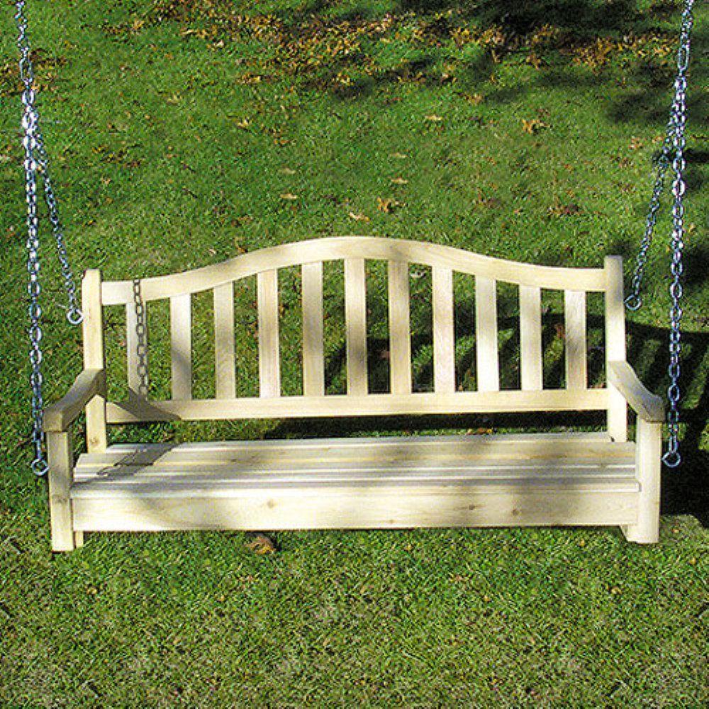Tidewater Workshop American Garden Porch Swing | Porch ...