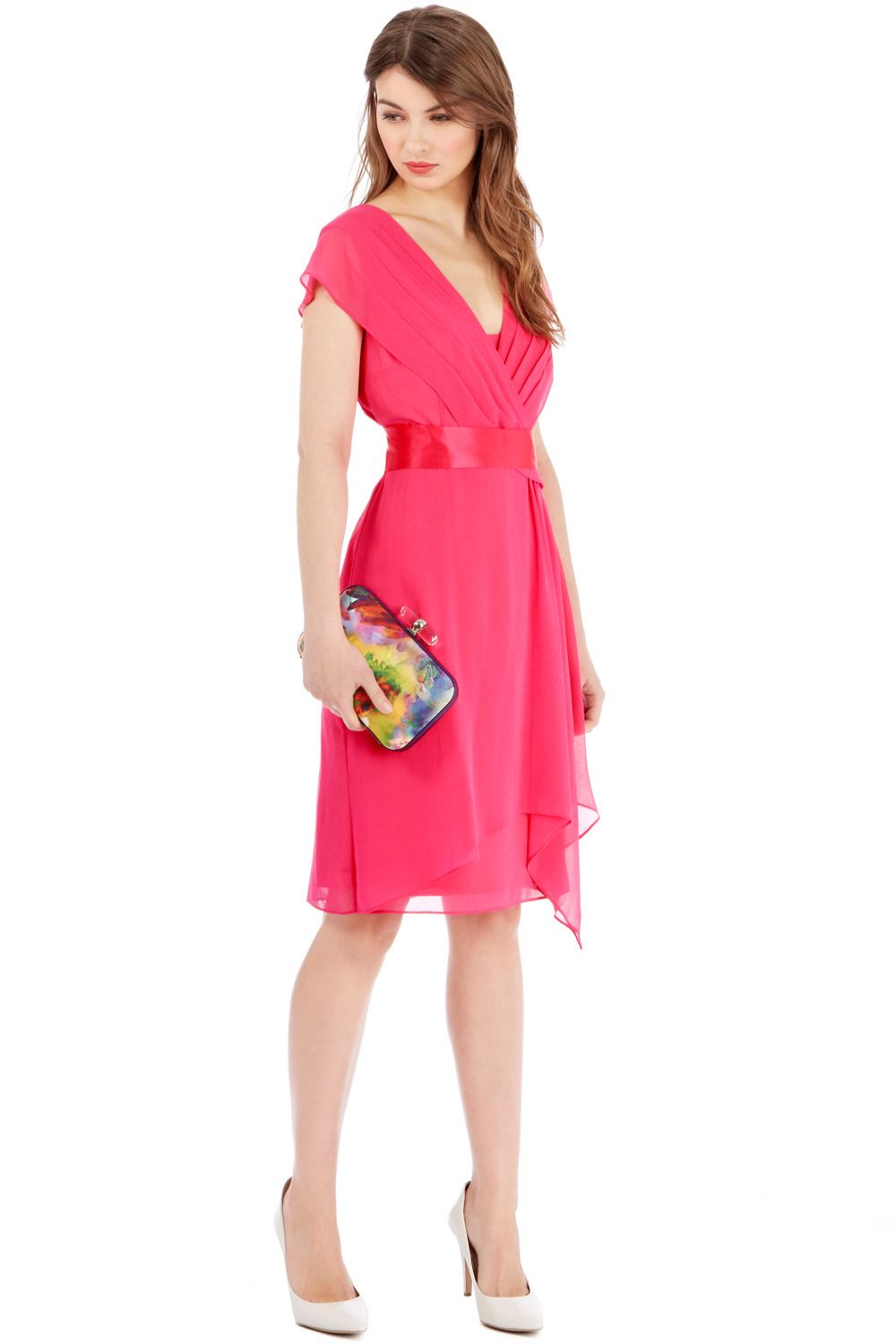 Make a playful addition to your wardrobe with this vibrant hot ...