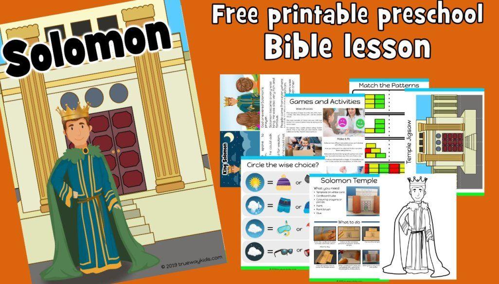 Joseph Free Bible lesson for under 5s Trueway Kids