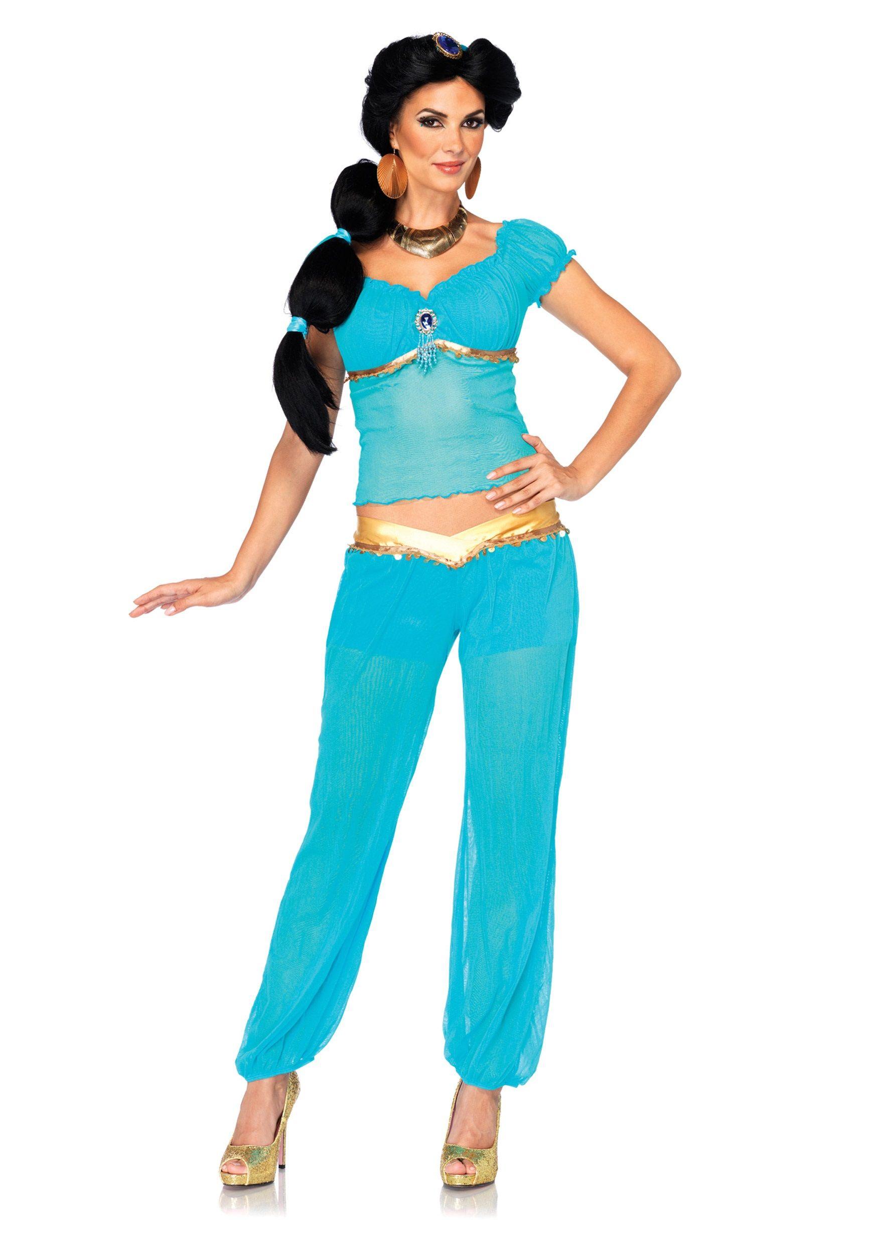 63b87193f4cfb3 Womens Disney Jasmine Costume in 2019 | Disney | Jasmine costume ...