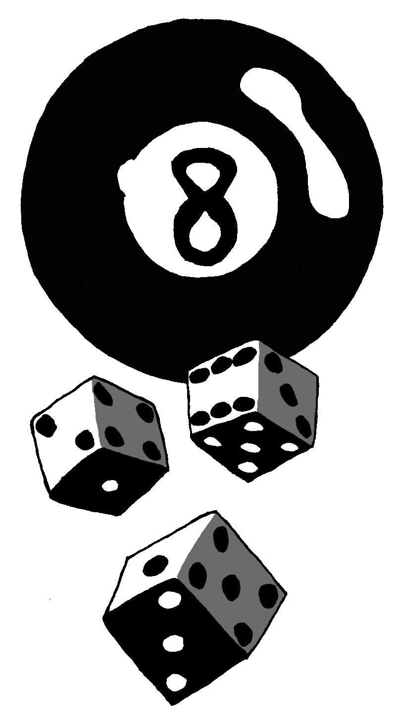 8 Ball Gambling Dices Eightballdice1308 Pinterest Dice