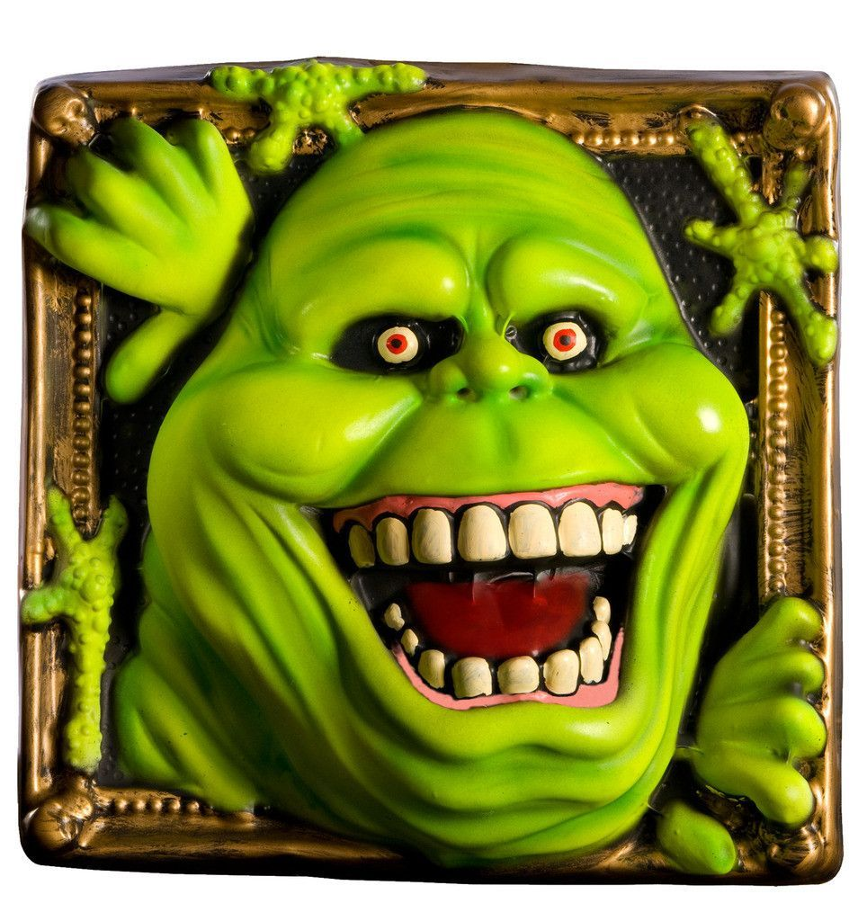 Ghostbuster slimer wall decoration includes slimer wall decoration rubies costume co ghostbuster slimer wall decoration this is an officially licensed ghostbusters product party supplies just arrived amipublicfo Image collections