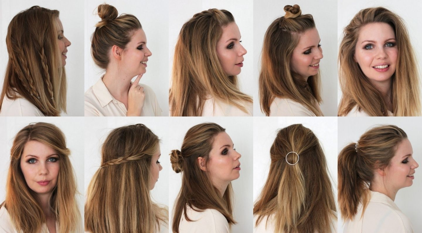 Easy hairstyles medium length hair medium hairstyles easy