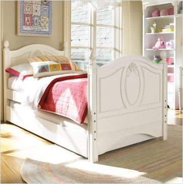Best Young America By Stanley Ma Marie Twin Half Bunk Bed Contemporary Kids Beds All Modern 640 x 480